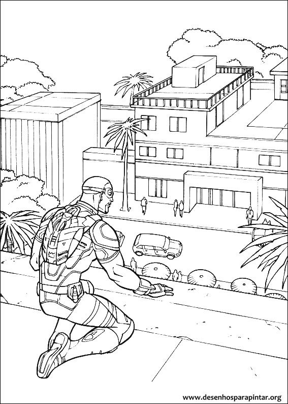 Captain America Civil War Free Coloring Pages Amp Images To