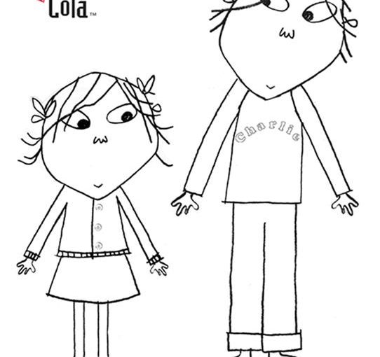 coloring pages to print charlie and lola | Charlie and Lola free coloring image pages to print ...