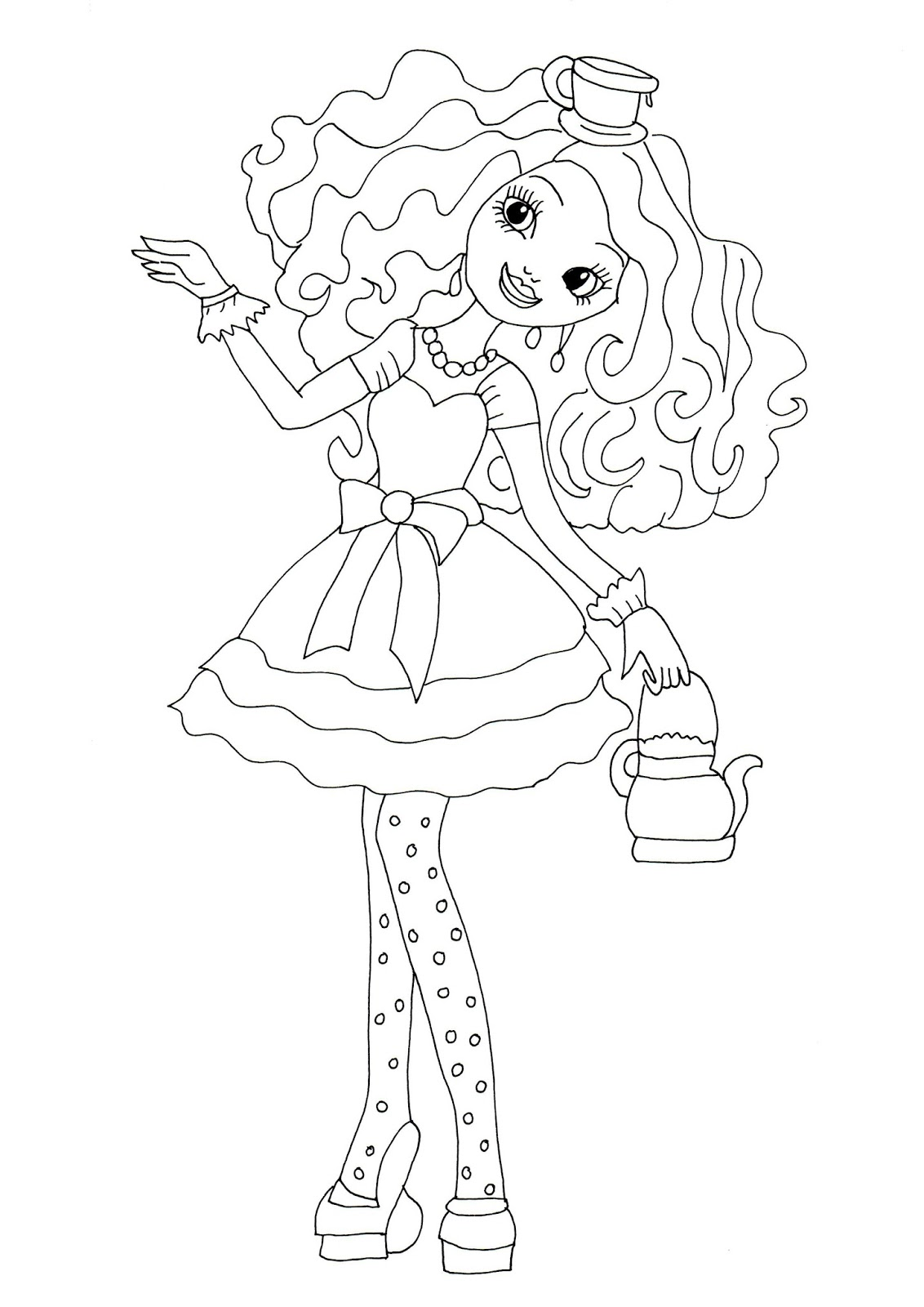 Free Ever After High Coloring Pages, Download Free Clip Art, Free ...   1600x1132