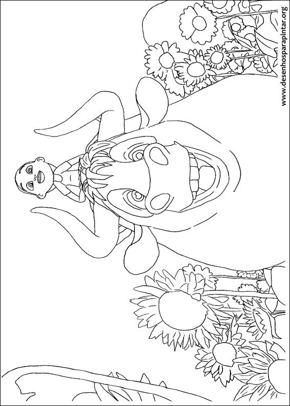 Fendinand The Taurus Free Coloring Images Pages To Print