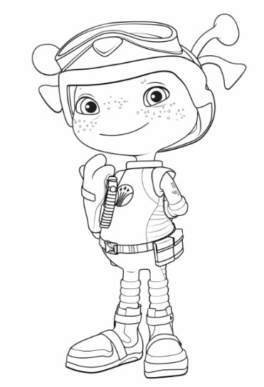 It is a picture of Fan floogals coloring pages