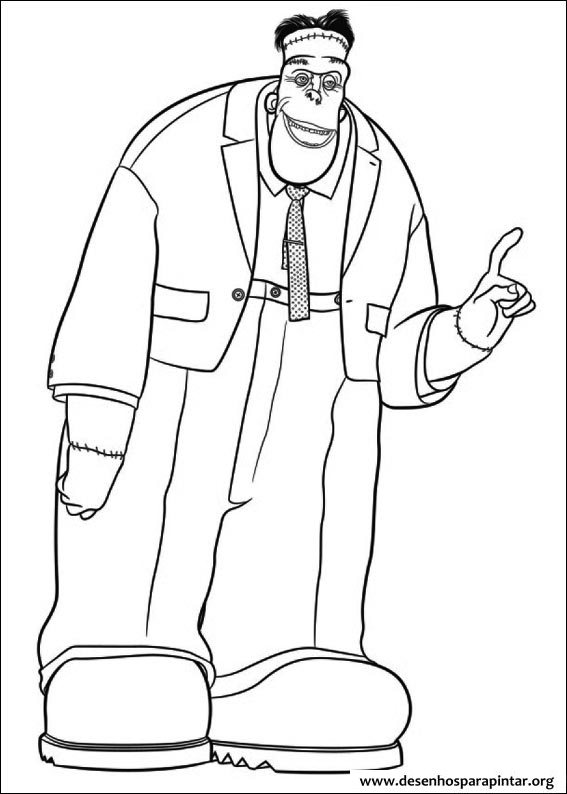hotel transylvania coloring pages free | Hotel Transylvania free coloring image pages to print from ...