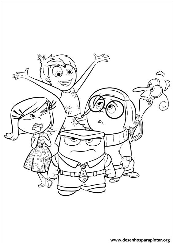 - Inside Out Free Coloring Pages To Print Disney Pixar – Colorpages.org