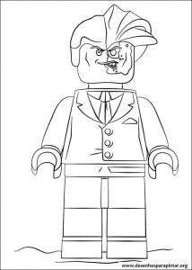 Lego Batman Movie free coloring pages to print