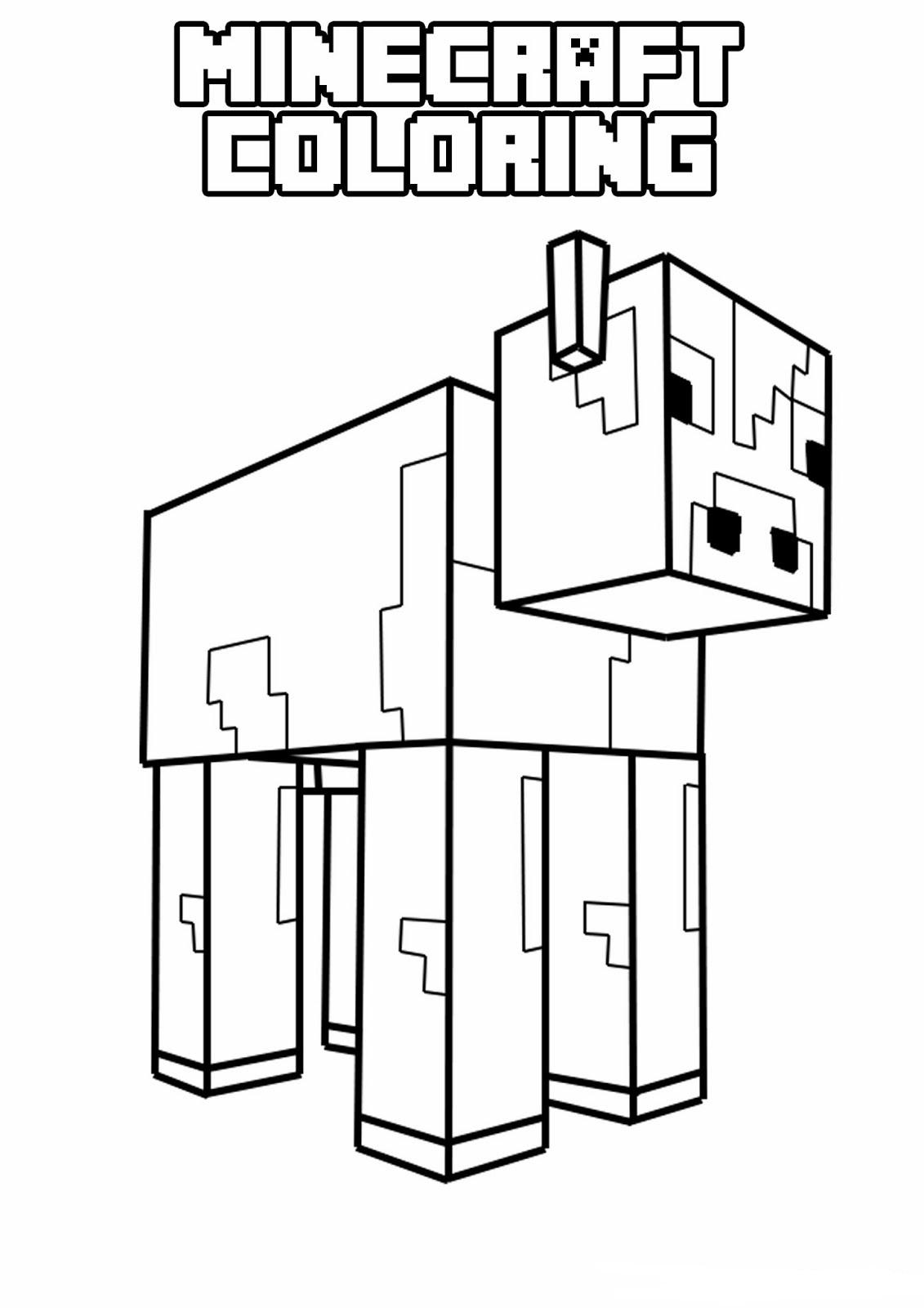 Minecraft Steve, Creeper, Enderman free printable coloring ...