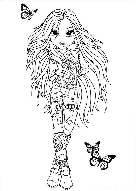 Moxie Girlz Avery Sophina Lexa Amp Bria Free Coloring