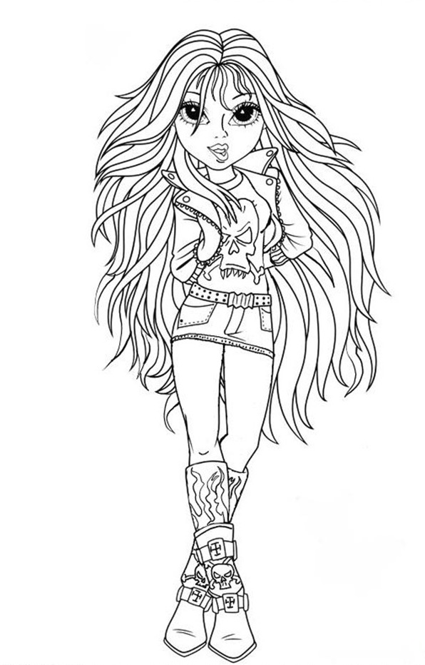 Free moxie girls coloring pages ~ Moxie Girlz Avery, Sophina, Lexa & Bria free coloring ...