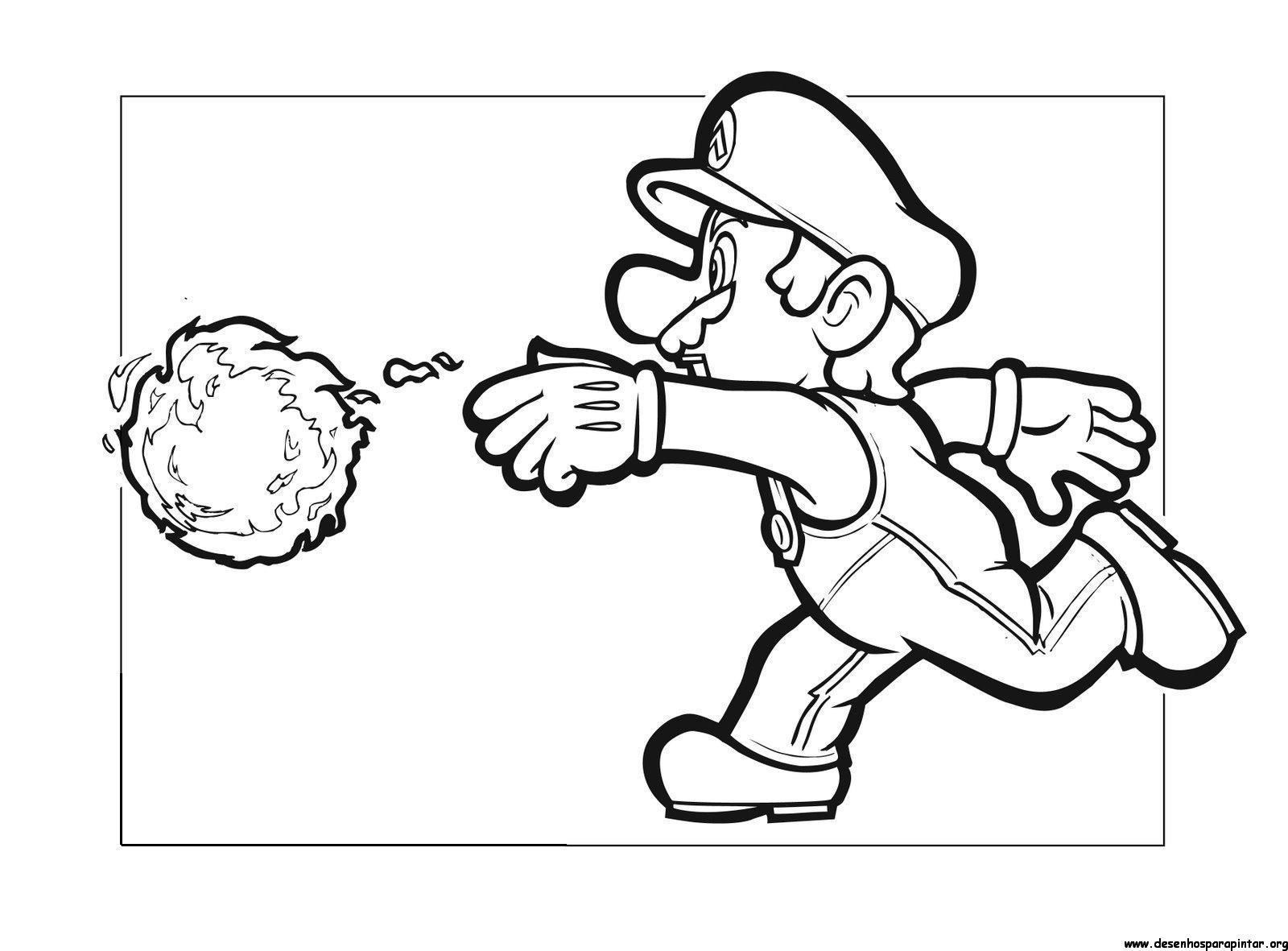 Super Mario Bros, Peach, Luigi free coloring image pages ...