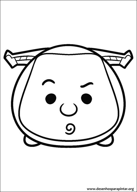 Disney Tsum Tsum Free Coloring Pages To Print Colorpages Org