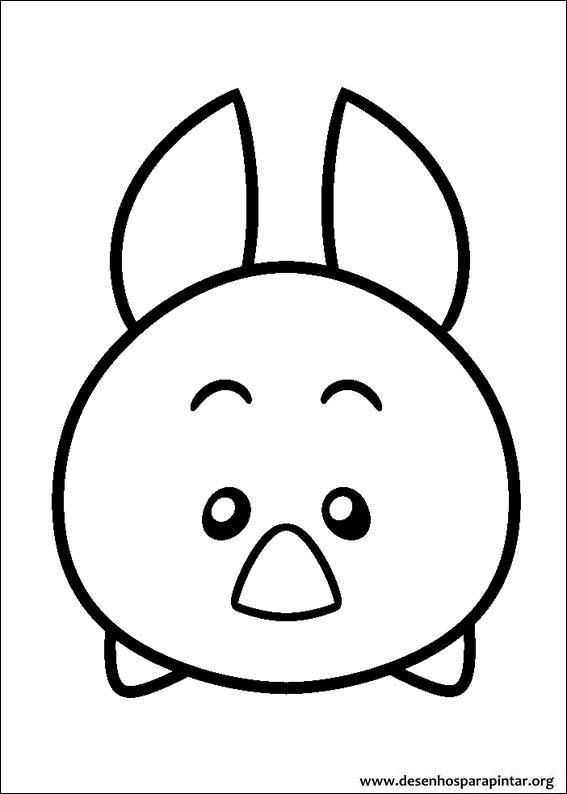 Disney Tsum Tsum free coloring pages to print - Colorpages.org