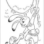 Zootopia free coloring pages free for kids to print