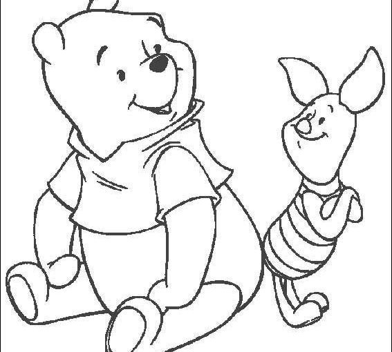Pooh Bear Free Printable Coloring Pages
