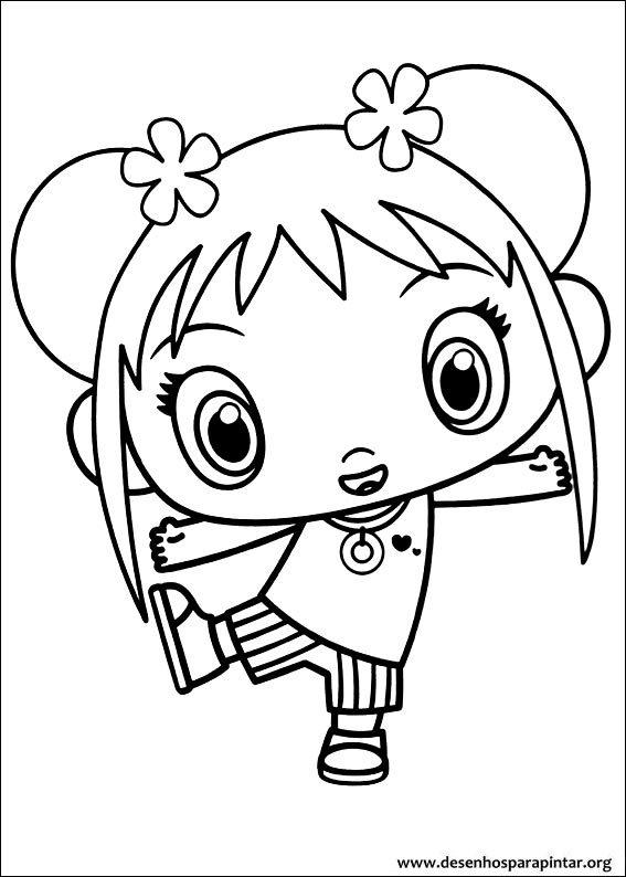 Ni Hao Kai Lan free printable coloring