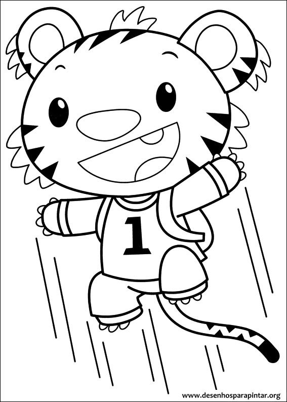 Ni Hao Kai Lan Free Printable Coloring Pages To Print