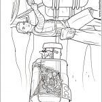 Star Wars Free printable coloring pages with Darth Vader, Luke, R2D2, BB8 Milenium Falcon