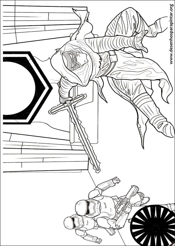 Star Wars Free Printable Coloring Pages With Darth Vader