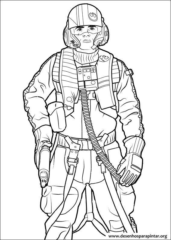 Star Wars Free printable coloring pages with Darth Vader ...