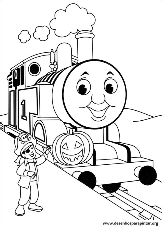 Thomas And Friends Free Printable Coloring Pages