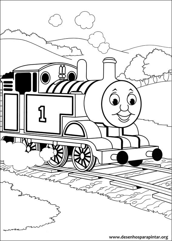 Thomas and friends free printable