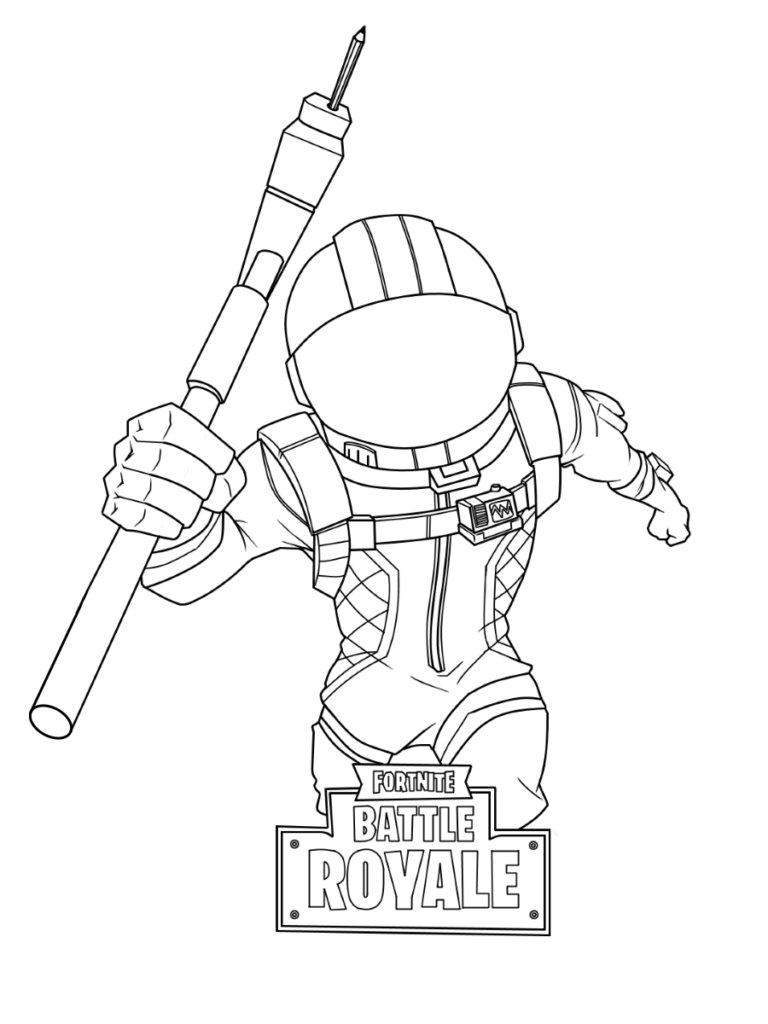 Fortnite Free printable coloring pages sheets - Colorpages.org