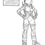Fortnite Free printable coloring pages sheets