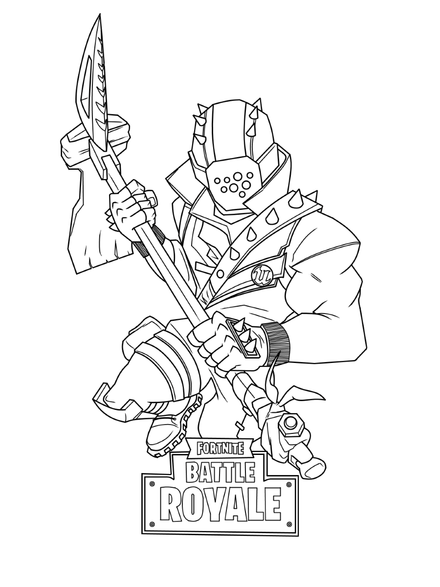 Fortnite Free Printable Coloring Pages Sheets Colorpages Org