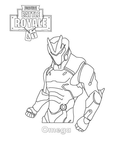 Fortnite Free printable coloring