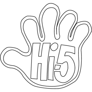 Hi 5 Free Printable Coloring Pages Discovery Kids Colorpages Org