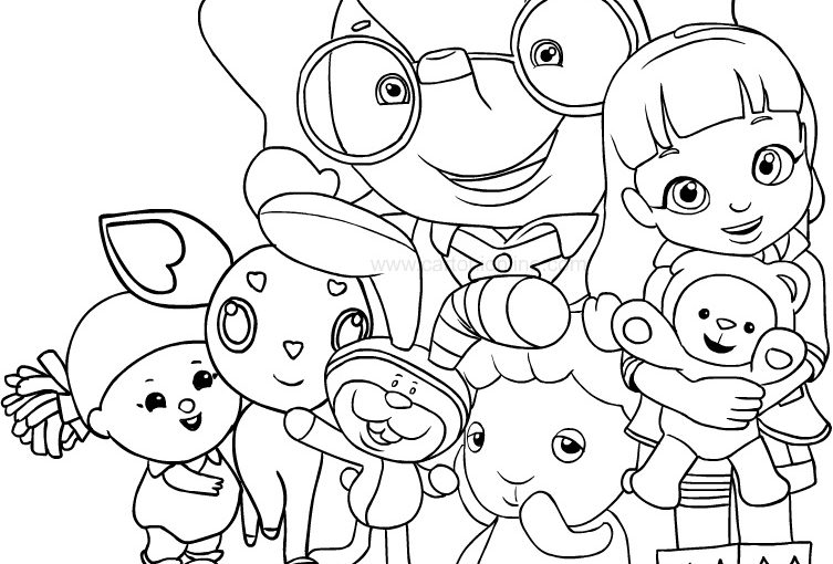 Alvin and the Chipmunks Coloring Pages | 510x753