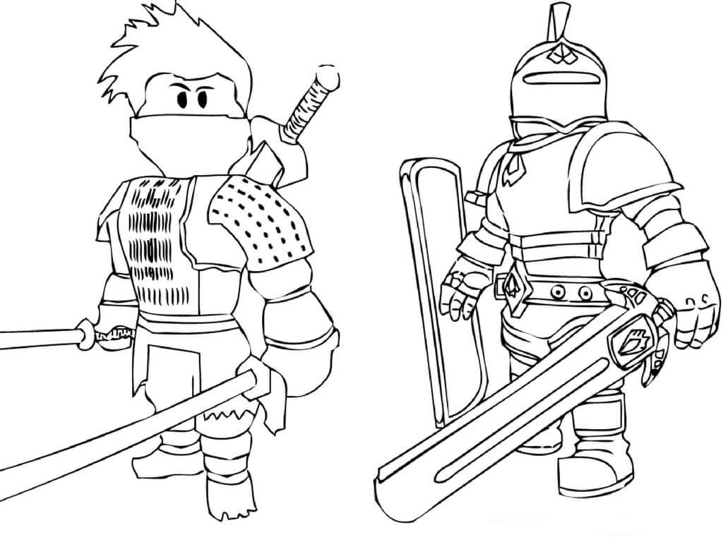 Roblox game free printable coloring pages – Colorpages.org