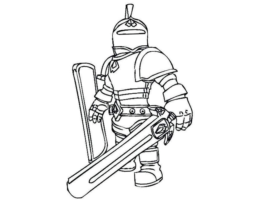 Roblox game free printable coloring pages - Colorpages.org