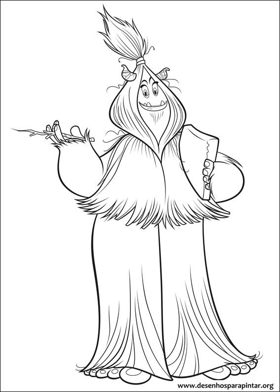 Small Foot free printable coloring pages – Colorpages.org