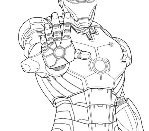 iron man free printable coloring pages