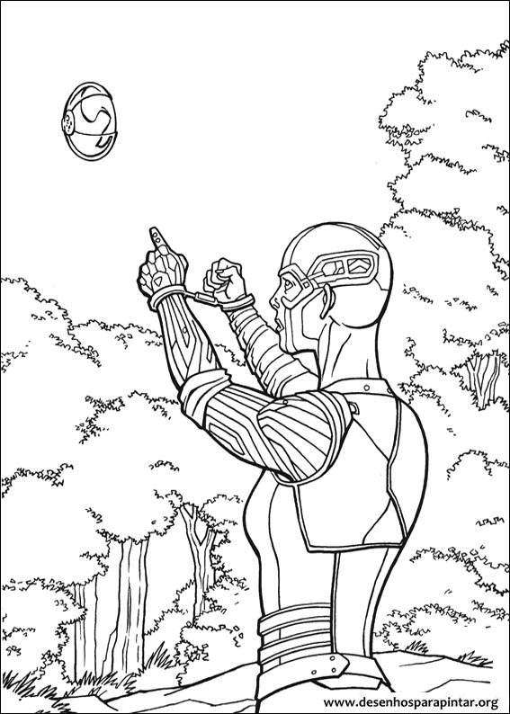 Guardians of the Galaxy free printable coloring pages ...