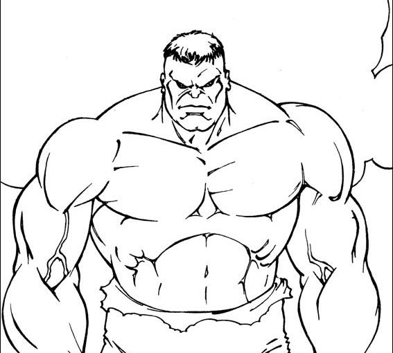 hulk marvel free coloring pages printable print heroes