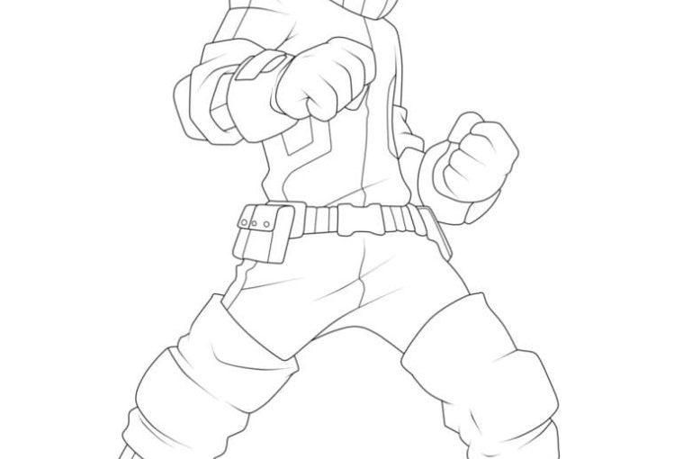 Boku no Hero - My Hero Academia free printable coloring pages