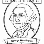 George Washington free coloring page to print 1st American President