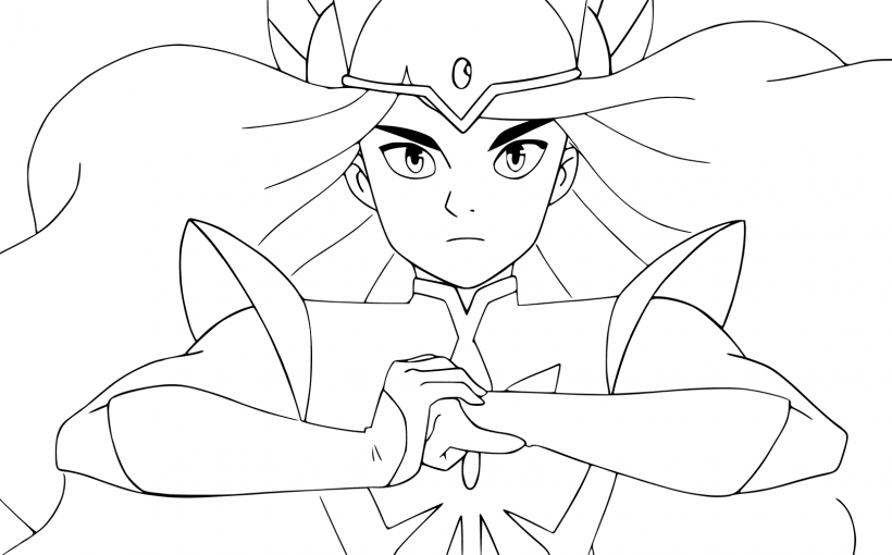 She-ra and the princess of power, printable coloring pages to color and print